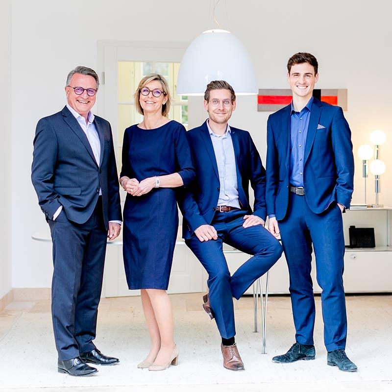 Steuerberatung in Starnberg – Teamfoto Dietloff und Oettinger
